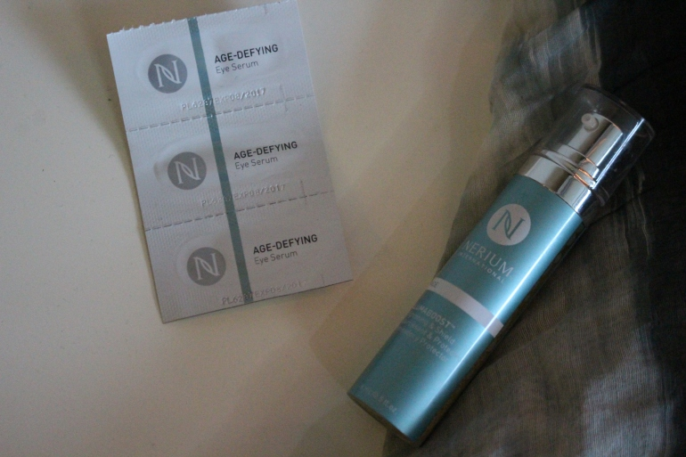 Narium skincare products cleared up and toned my completion