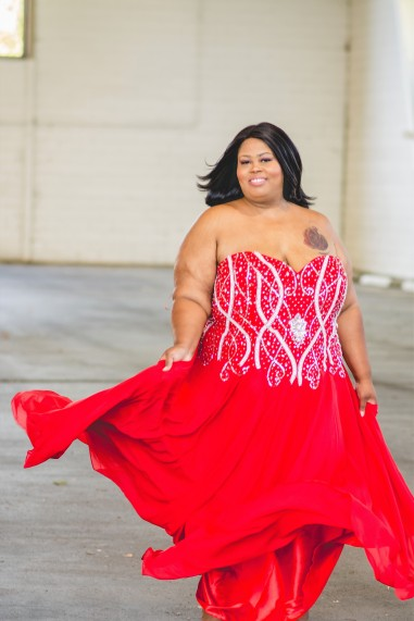 repurpose your plus size prom dress into a DIY halloween costume