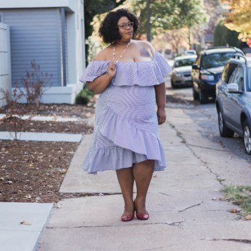 Plus Size Holiday Dress Finessecurves