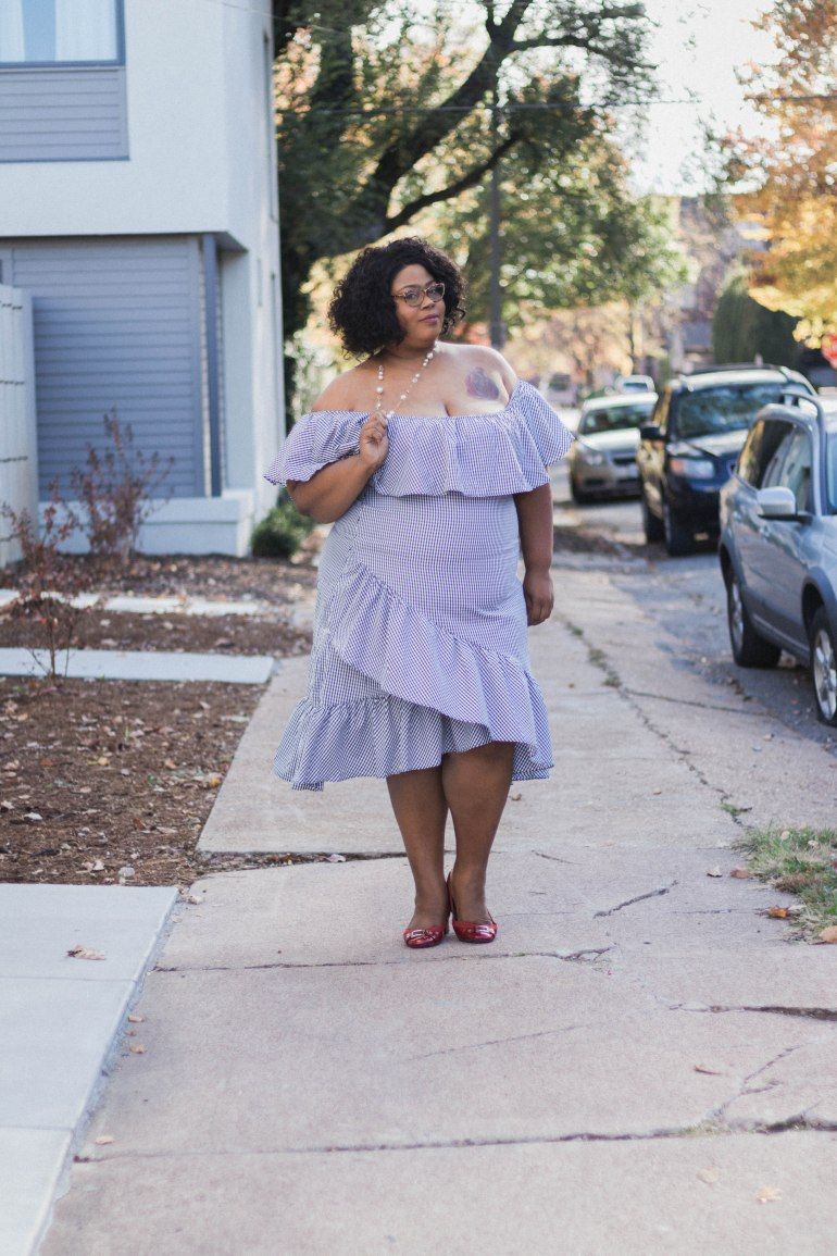 Plus Size Vacation Dress from Shein