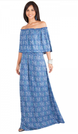 http://finessecurves.com gcg me, summer cookout, summer dress, patriotic dress, holiday dress, plus size maxi, full length dress, resort wear, plus size resort wear, saint louis blogger, twilight tuesday, fair saint louis, amazon bag, Fuji water, blue, Mediterranean outfit, blue, greece-inspired outsit